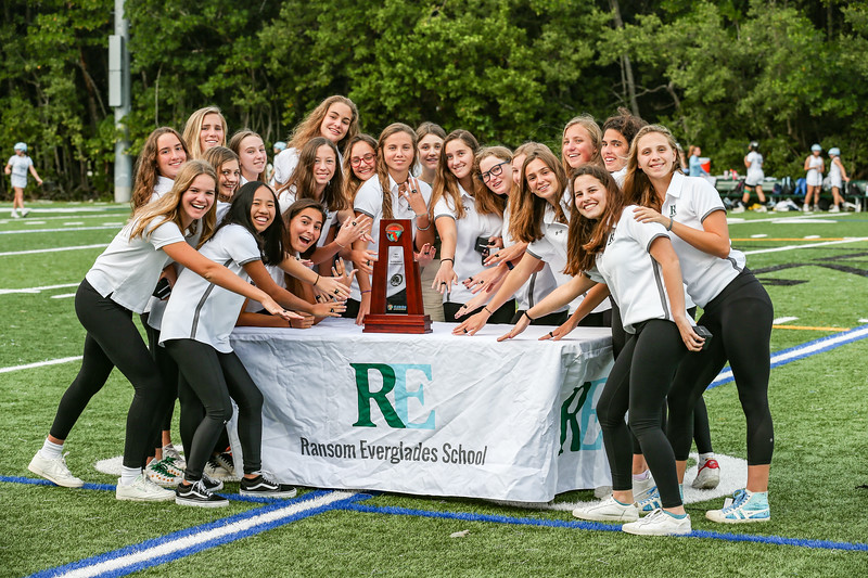 2019 Ransom Everglades Water Polo Girls Champions Ring Ceremony