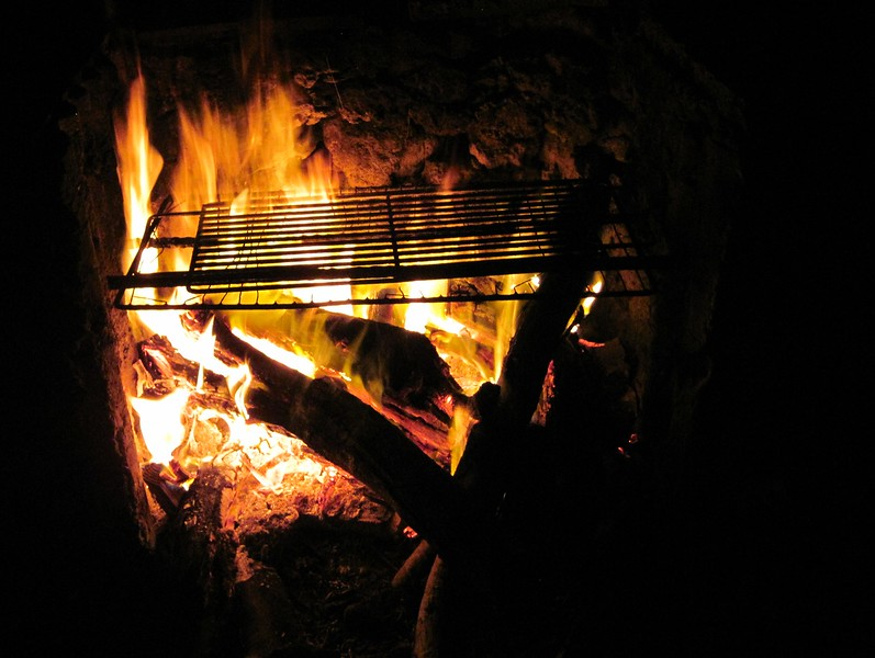 FIre ready for food