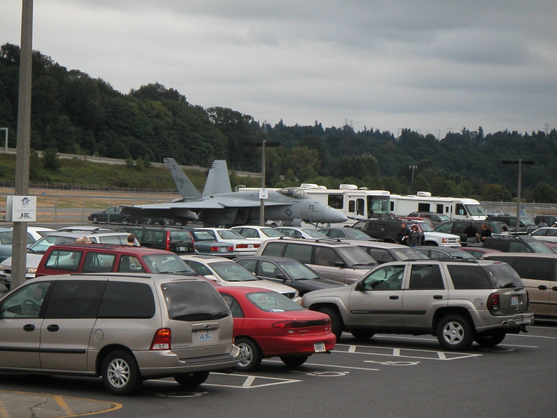 F-18 Parked Among Cars.jpg