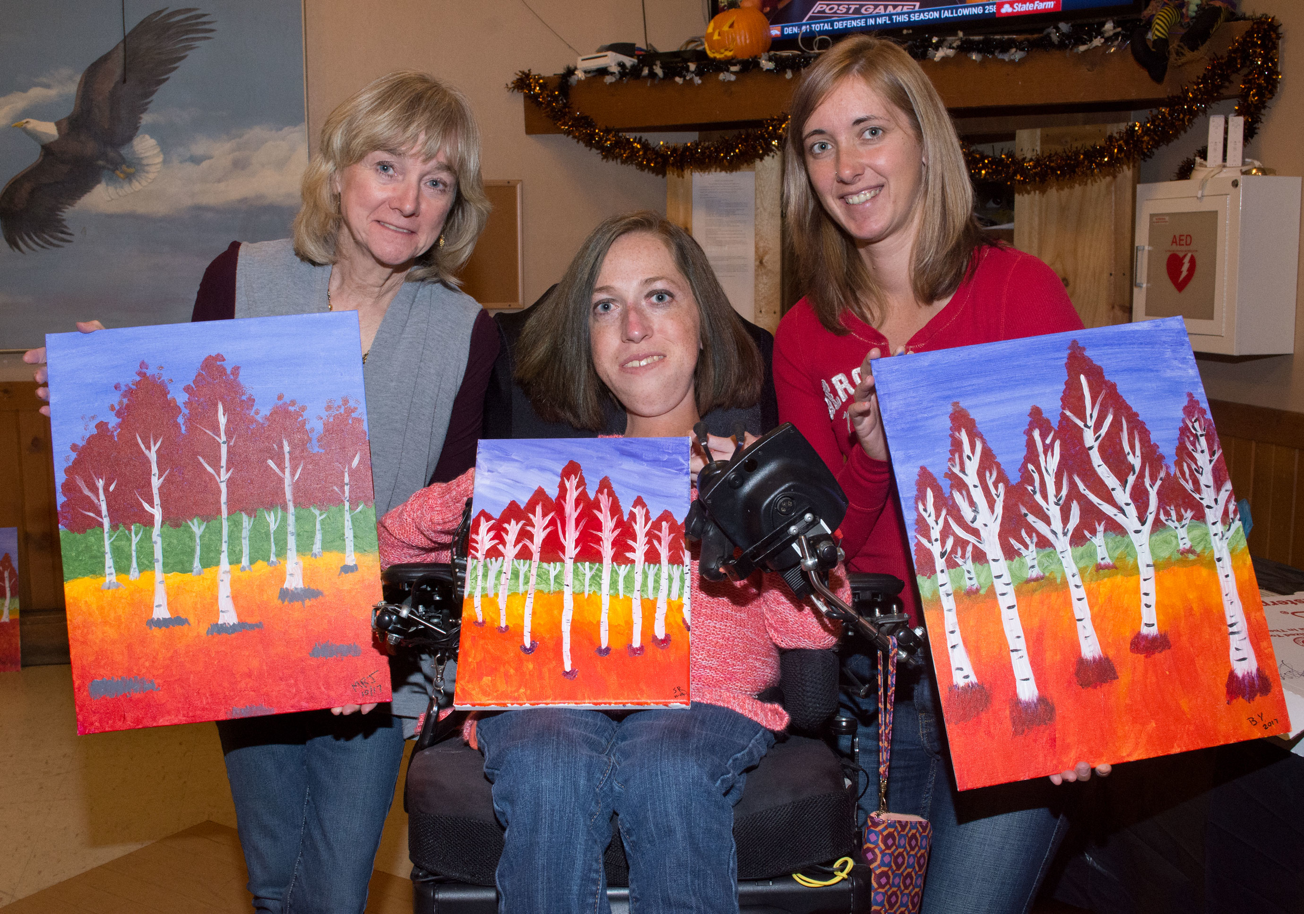 Eagles Painting Party 10-29-2017