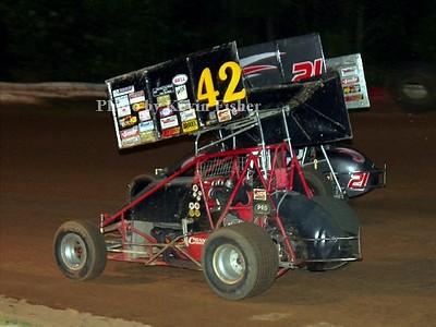 VSS Sprints at County Line Raceway - 7/29/06