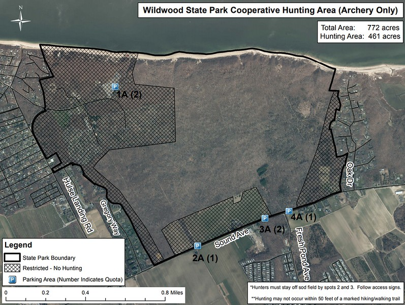 Wildwood State Park (Hunting Map)