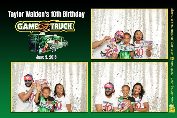 Game Truck Birthday Party