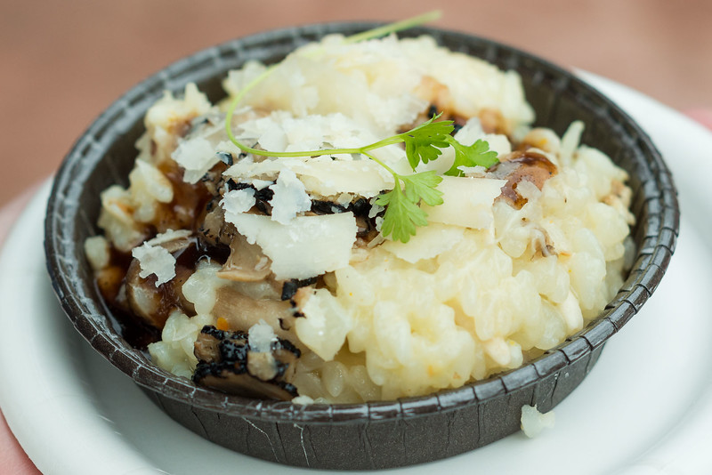 Epcot International Festival of the Arts - Wild Mushroom Risotto - Magic Kingdom Walt Disney World
