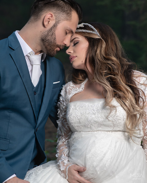 2018-10-01 Davis Wedding Maternity