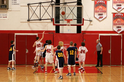 Boys Freshman Basketball - 2/24/2009 Manistee