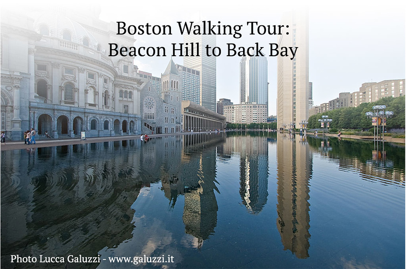 Boston Walking Tour: Beacon Hill and Back Bay