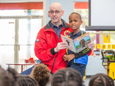 Book Reading at Martin Lurther King, Jr. YMCA Pre-School - May 16, 2017