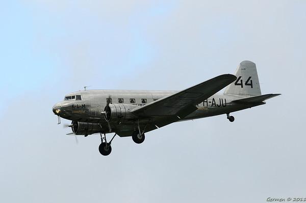 Arrivals Luchtmachtdagen 2011