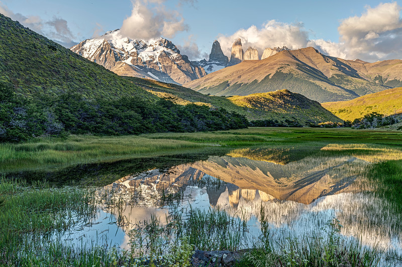Torres Del Paine Reflection