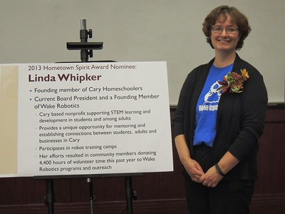 WR 2013 Cary Hometown Spirit Linda Whipker