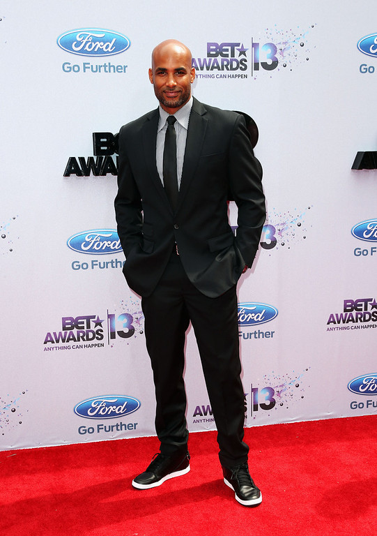 . Actor Boris Kodjoe attends the 2013 BET Awards at Nokia Theatre L.A. Live on June 30, 2013 in Los Angeles, California.  (Photo by Frederick M. Brown/Getty Images for BET)