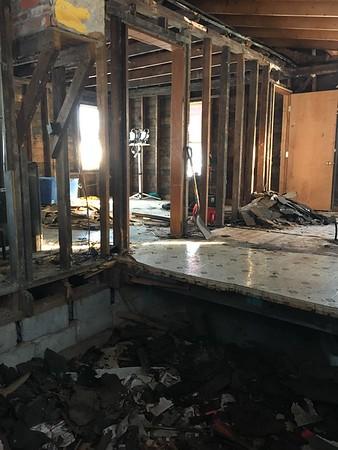 Rear Roof & Bedroom Floor Replacement - Winter 2018