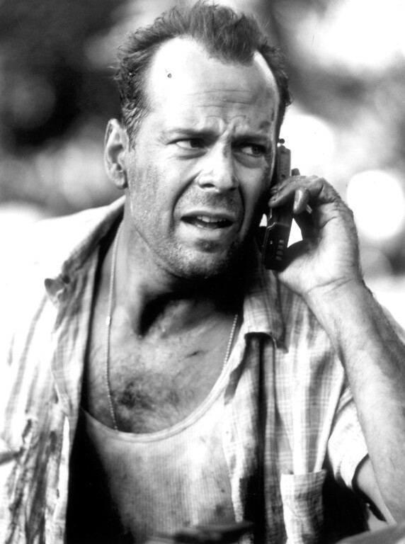 """. \""""Die Hard with a Vengeance\"""" movie starring Bruce Willis as New York City Detective John McClane is released on 5/19/1995.  (L.A. Daily News file photo)"""