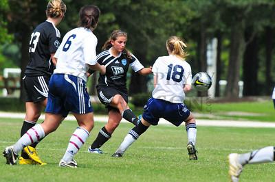 U19 Shockers vs Lady Chiefs - 9/19/2009
