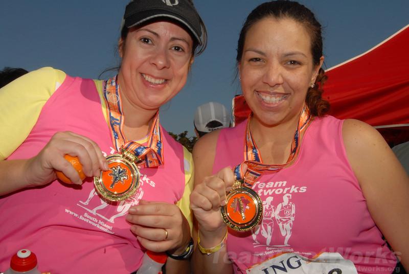 2009 ING Miami Marathon/Half Marathon - Susie Tillett