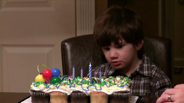 12/07.08 Zane's 4th Birthday - Family Party