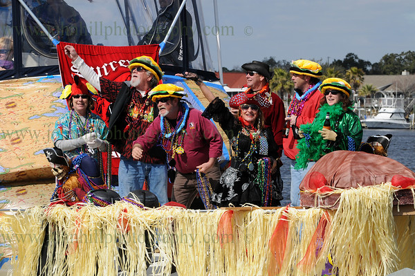 Pirates of Lost Treasure Mardi Gras Flotilla-2010
