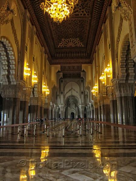 Prayer Hall, The Hassan II Mosque