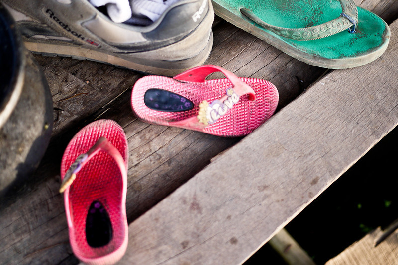 Tiny little sandals, Inle Lake, Burma (Myanmar).