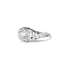 1.00ct Round Brilliant Diamond Filigree Solitaire 1