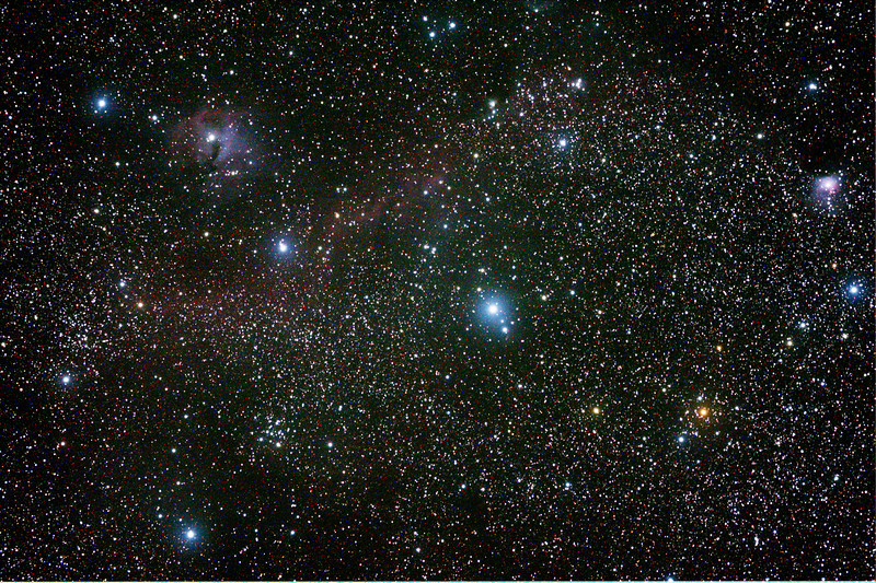 IC2177 Seagull Nebula - 1/12/2013 (Processed stack)