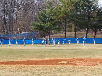 Varsity Baseball Scrimmage - 3/11/14
