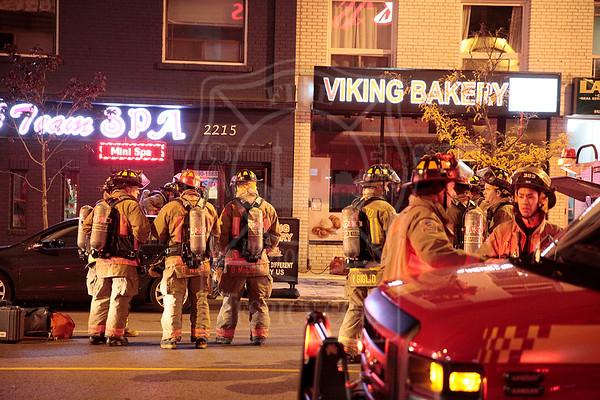 October 18, 2015 - Working Fire - 2215 Danforth Avenue