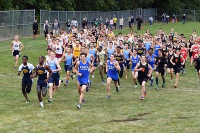 Boys Varsity: Start of Race