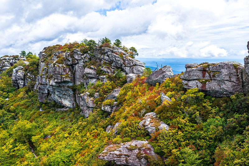Early Fall in Linville Gorge