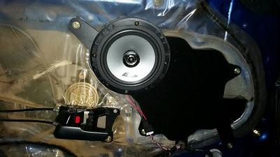 Toyota Supra MKIV USDM with Premium Sound System Front Door Speaker Installation - Poland