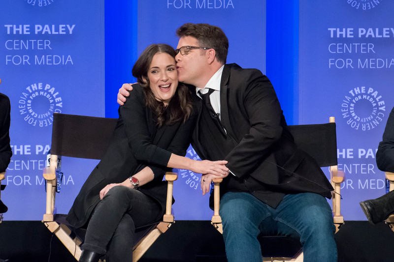 Winona Ryder and Sean Astin