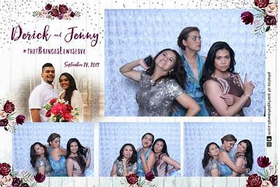 Derick & Jenny's Wedding (Vanity Magic Mirror)