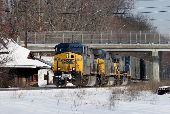 2008 New England Railroading