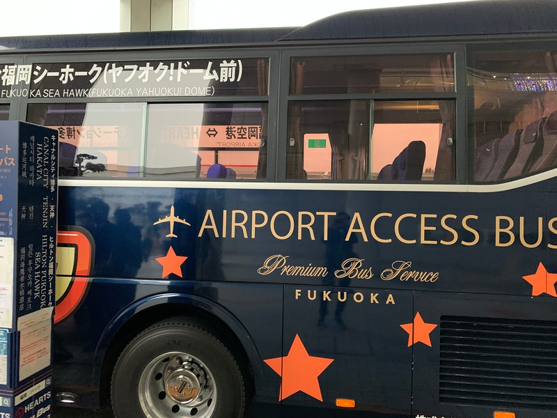 The Hearts Airport Bus