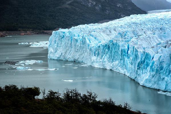 Califate and the Perito Moreno Glacier
