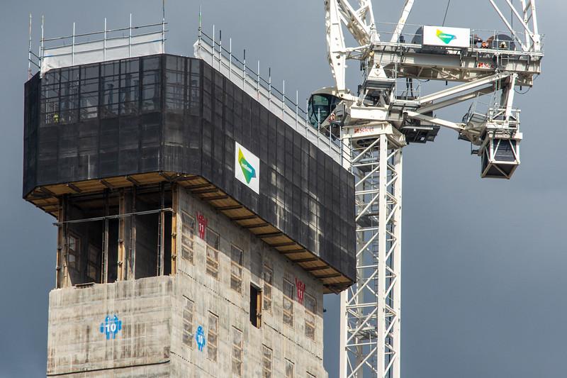 Google construction at King's Cross