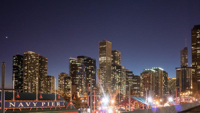 Navy Pier Skyline, Chicago