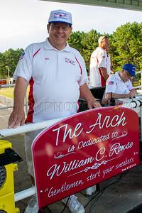 William C Rowse Arch Dedication 8-2-19
