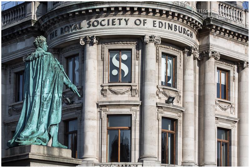 King George IV statue, George Street (2)