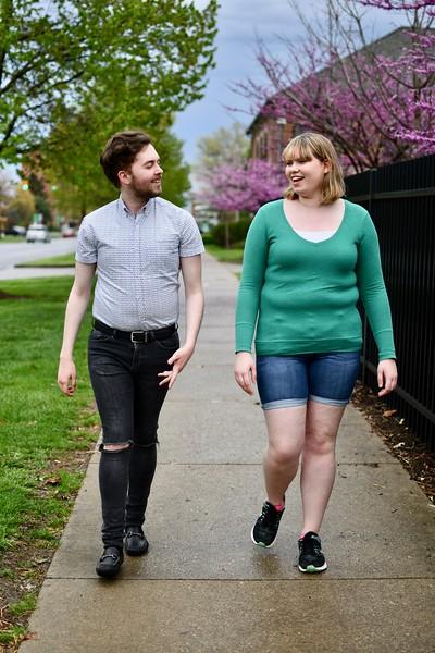 Ralph May and Laura Hundley