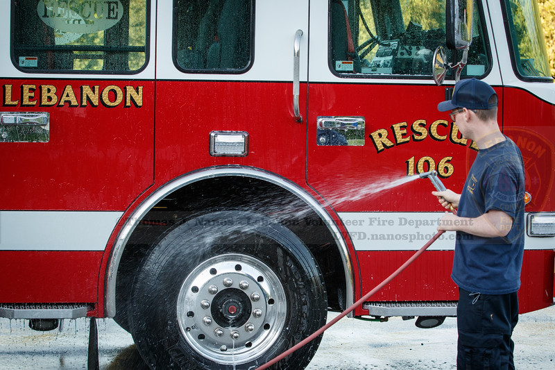 Lebanon Volunteer Fire Department work day