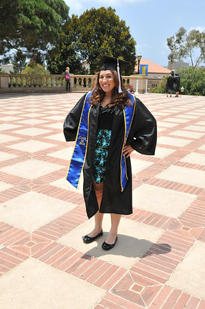 UCLA Pre-Commencement Campus Photo Shoot