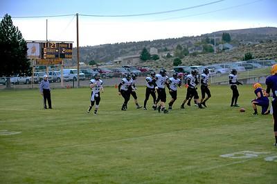 Outlaw Football vs Burns 9-04-15