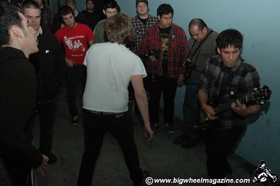Harpoon Guns - Holy Shit - Death Crisis - Time Bombs - Video Disease - at Motion LA - Los Angeles, CA - December 08, 2008