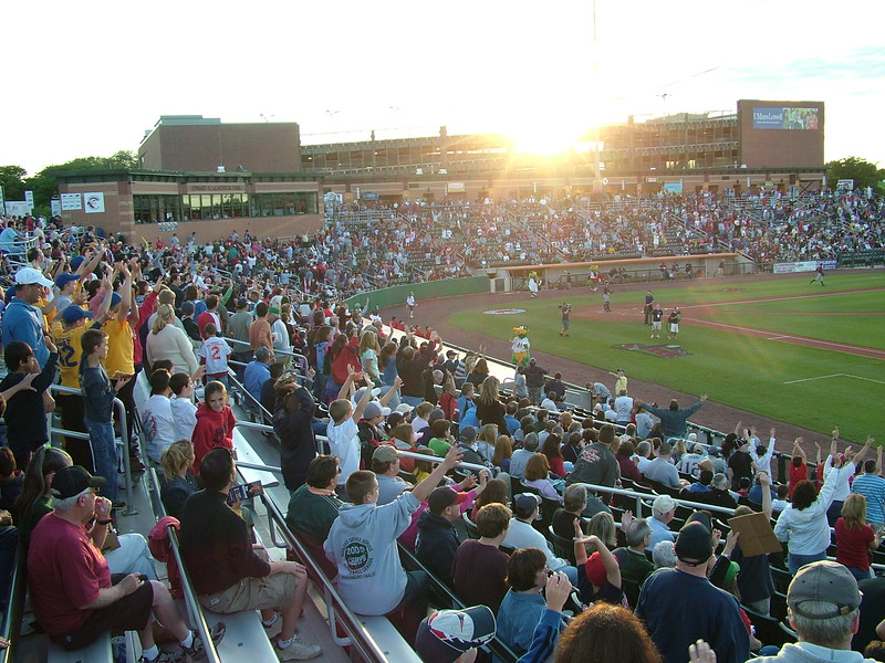 LeLacheur Park - Home of the Lowell Spinners