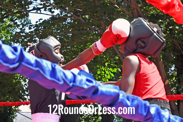 Bout 2 Marcellous Smith, Red Gloves, Cleveland -vs- Jaylon Wallace, Blue Gloves, St. Louis, MO, 75 Lbs