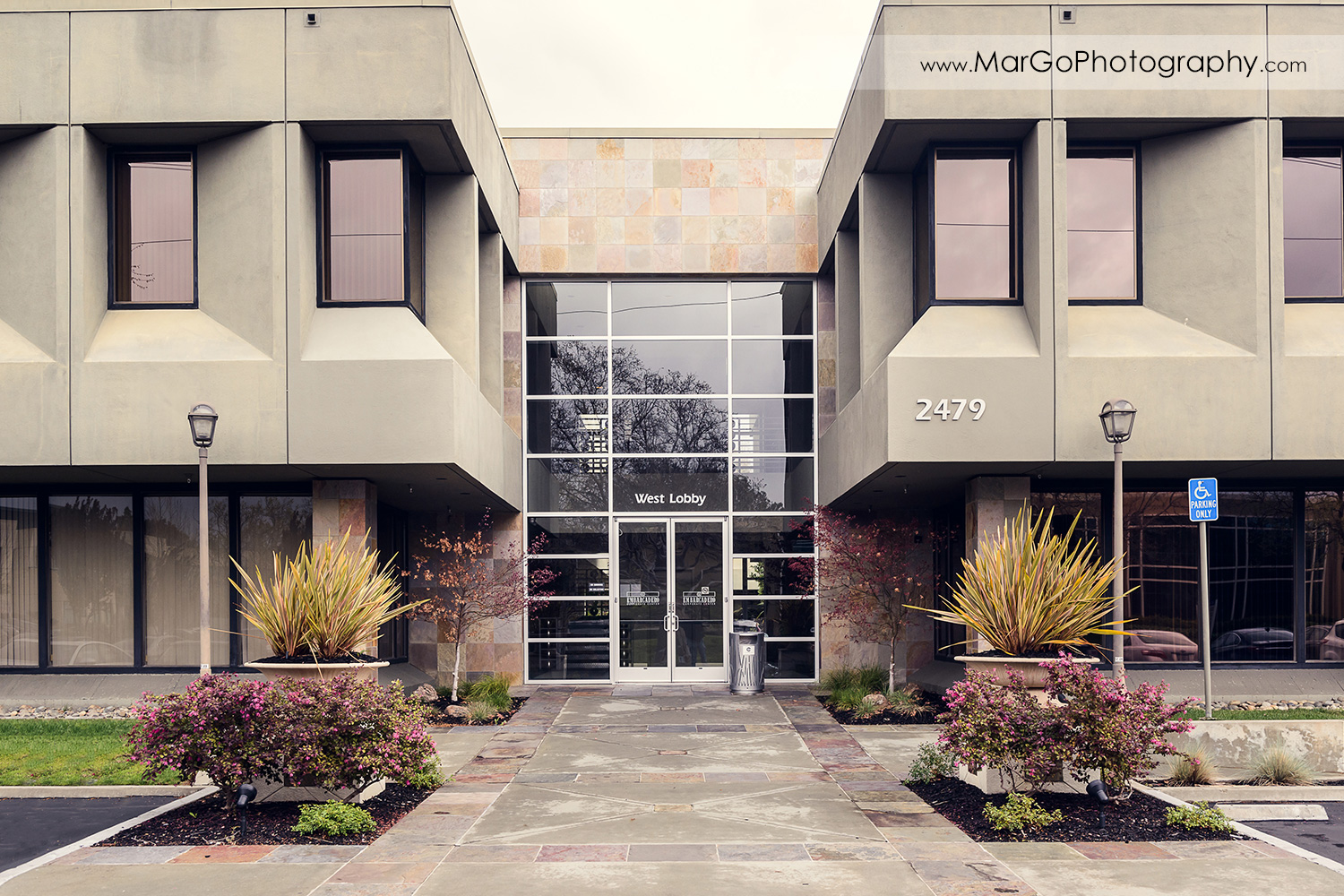photography of business building in Palo Alto, CA