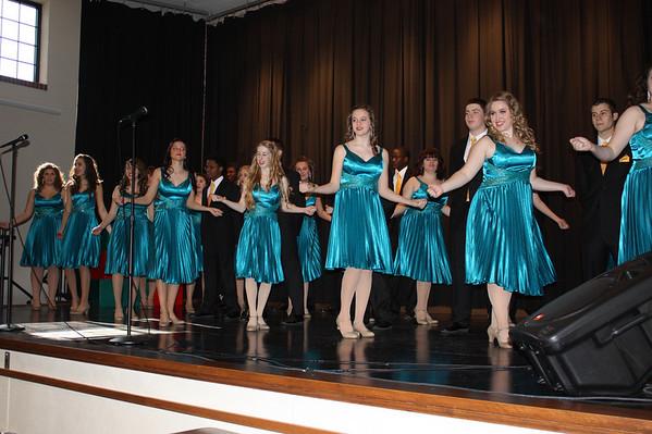 High School Holiday Choir Presentations