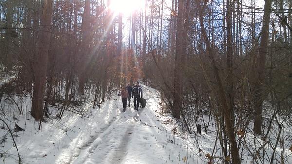 January 1 2017 New Years Day Hike